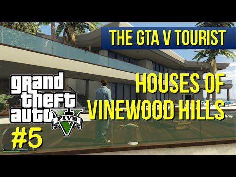 The GTA V Tourist: Houses of Vinewood Hills - Part 5 (Milton Road area)