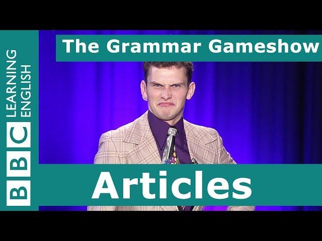 Articles: The Grammar Gameshow Episode 28