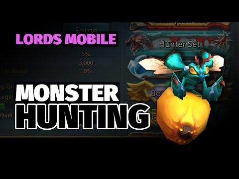Lords Mobile: Monster Hunt Gear