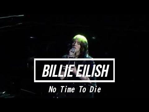 18.02.2020 Billie Eilish 『No Time To Die』@ BRIT Awards London England