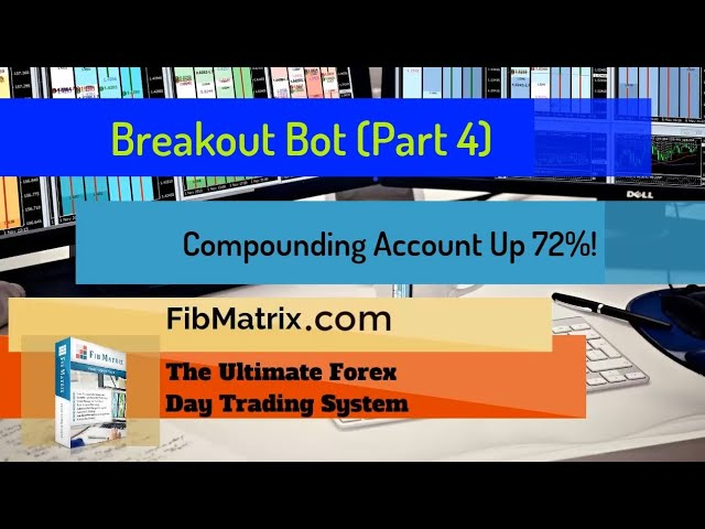 UP 75%! – Breakout Bot (Part 5) Automated Forex Software Performance Results  Compounding Account