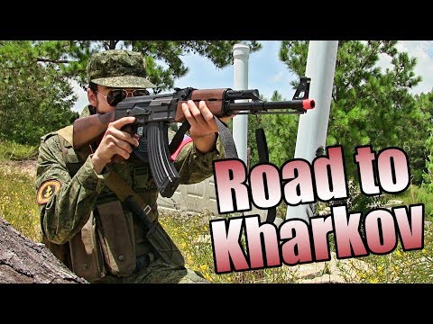 Airsoft Operation: Road to Kharkov - [Russia] - Wasteland Ops Airsoft Gameplay