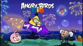 Angry Birds Rio  - Juegos Para Niños Pequeños - Angry Birds Cannon - Gameplay Walkthrough Part 4