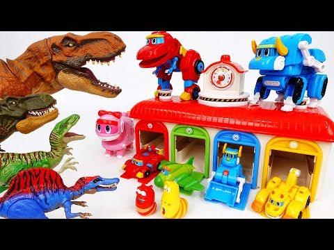 Dinosaurs Are Angry~! New GoGo Dino Season 3 - ToyMart TV