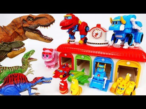 Dinosaurs Are Angry~! New GoGo Dino Season 3 - ToyMart TV