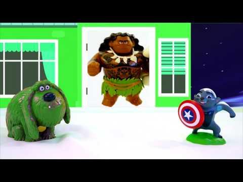 42 Minutes Disney Moana Secret Life of Pets PJ Masks for Kids Children & Toddlers