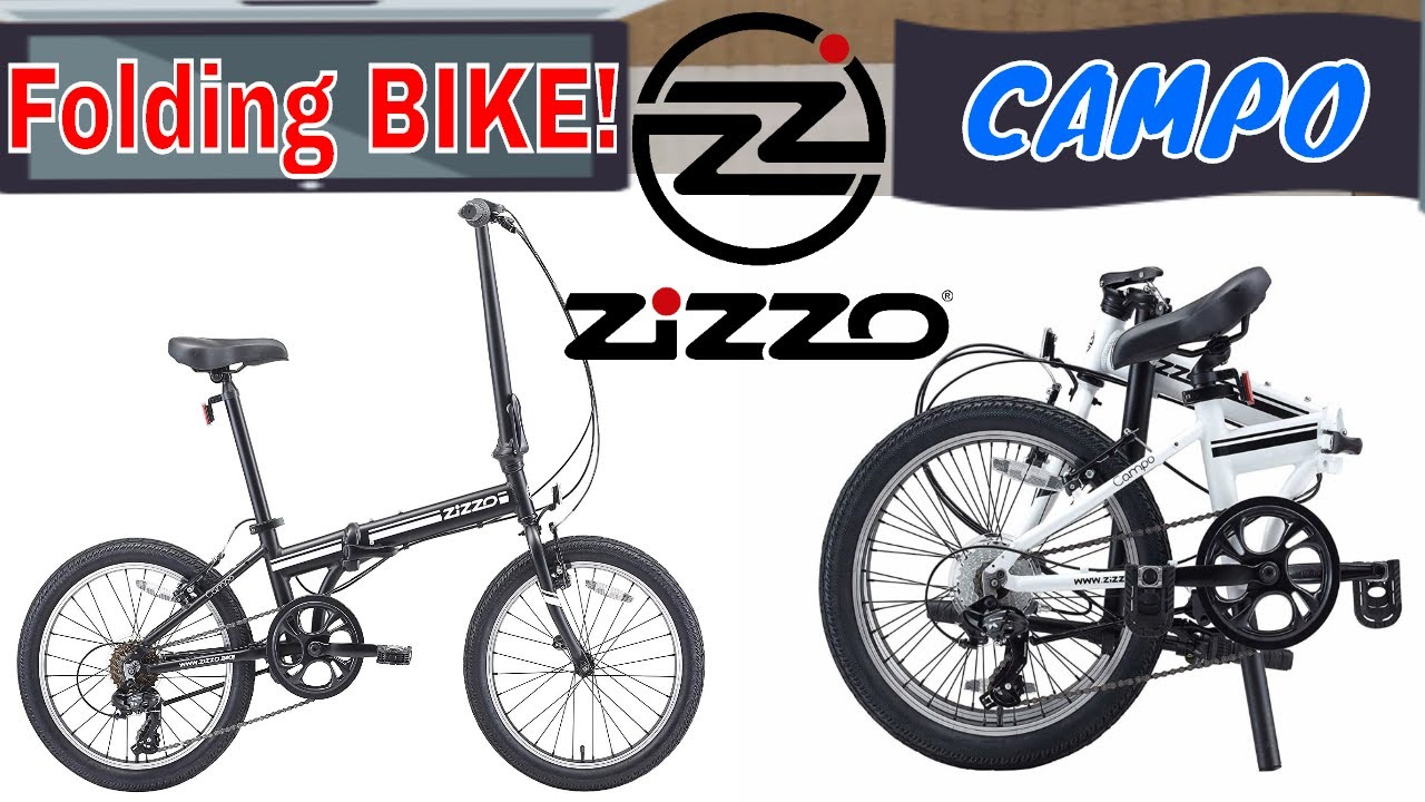 Euromini Zizzo Campo Folding Bike How To Set Up Fold With Manual Test Drive Youtube