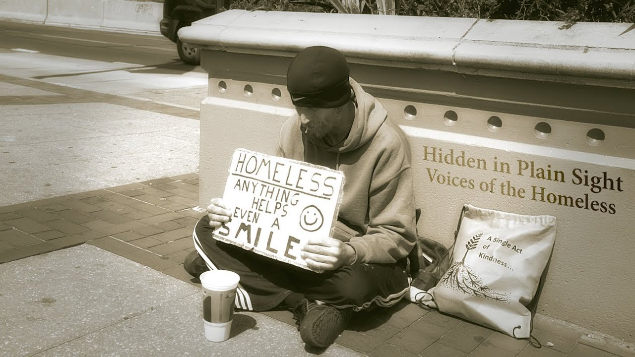 Hidden In Plain Sight Homeless Students >> Hidden In Plain Sight Voices Of The Homeless Trailer Youtube