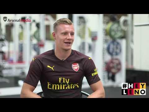 Bernd Leno's first Arsenal interview