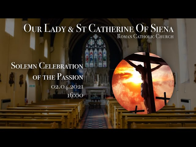 Celebration of Lord's Passion - F-Javier Ruiz-Ortiz - Church of Our Lady and St Catherine of Siena