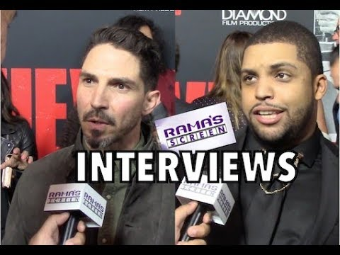 My 'DEN OF THIEVES' Premiere Interviews with Maurice Compte, O'Shea Jackson Jr. And More!