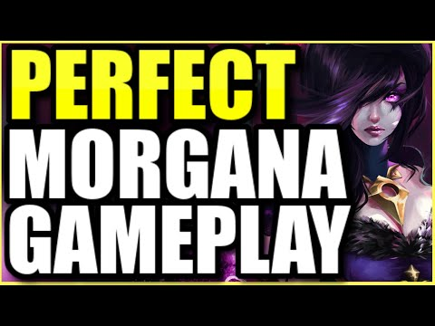 *THIS* IS HOW YOU PLAY MORGANA PERFECTLY IN SEASON 11 (MORGANA SUPPORT GUIDE BY GRANDMASTER PLAYER)