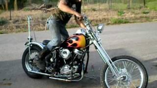 1962 Harley Panhead Chopper