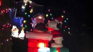 Holiday Lights 2011 - Bainbridge Island - Hawkins Household