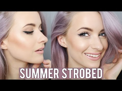 Everyday Summer Strobing Look | Inthefrow, #Contouring