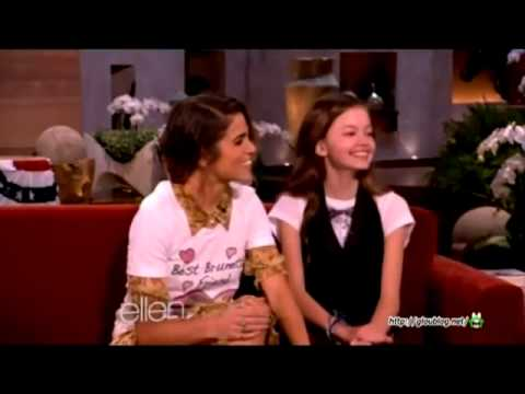 Mackenzie Foy and Nikki Reed - The Ellen DeGeneres Show
