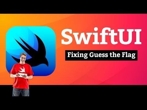Fixing Guess the Flag – Accessibility SwiftUI Tutorial 4/6 thumbnail