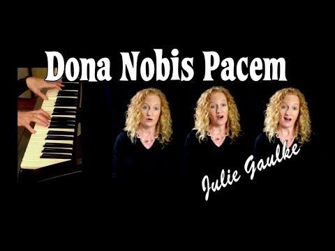 Dona Nobis Pacem canon -  multitrack by Julie Gaulke