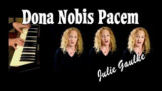Dona Nobis Pacem canon -  multitrack by Julie Gaulke Mp3