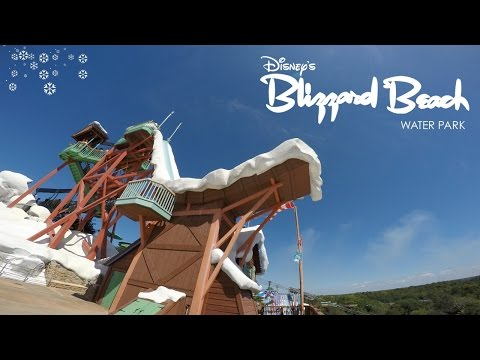 A Day at Disney's Blizzard Beach Water Park! (Part 1) | BrandonBlogs