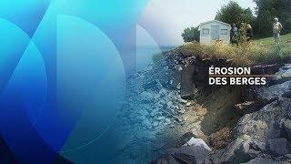 L'érosion des berges affecte la région de Montréal
