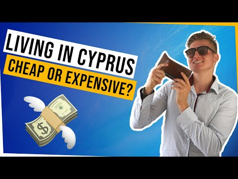 Living Costs in Cyprus (Rent, Food & more!)