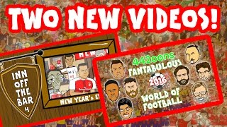 TWO NEW VIDEOS! 14mins+ new show and In Off The Bar Episode 4! New Year 2017