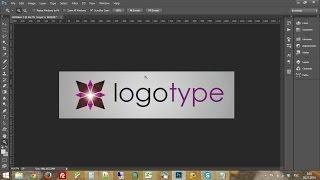 как создать логотип в photoshop