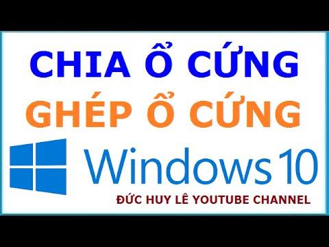 Hướng Dẫn Chia ổ Cứng Máy Tính Windows 10