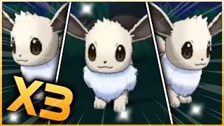 3 LIVE SHINY EEVEE REACTIONS! Pokemon Ultra Sun & Ultra Moon Shiny Hunting Reactions!