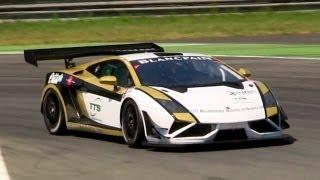 Lamborghini Gallardo GT3 FL2 2014 Videos