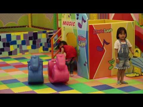 Mandi Bola di Taman Bermain Playground Anak, Permainan Masak-Masakan, Mainan Anak Rumah Odong odong