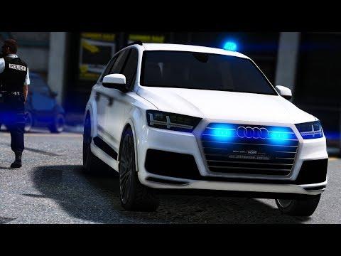 [GTA-LSPDFR] PATROUILLE EN AUDI Q7 BANALISÉ | POLICE NATIONALE #201