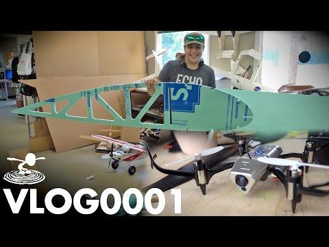 GIANT PLANES – TINY DRONES | VLOG0001