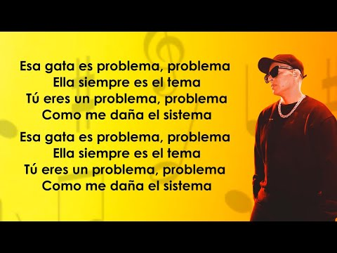 Daddy Yankee – Problema (Letra/Lyrics)