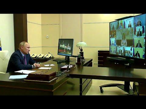Владимир Путин провел совещание о санитарно-эпидемиологической обстановке в стране.