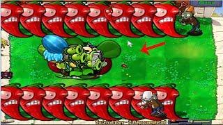 Plants vs Zombies Hack All Plant vs Giga Gargantuar vs Zombie PvZ