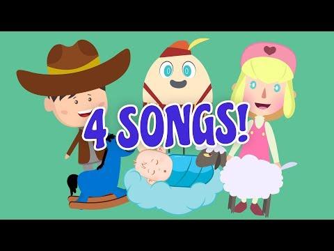 BEST NURSERY RHYMES FOR KIDS | HUMPTY DUMPTY MARY HAD A LAMB | Kids Hub Nursery Rhymes Kids Songs