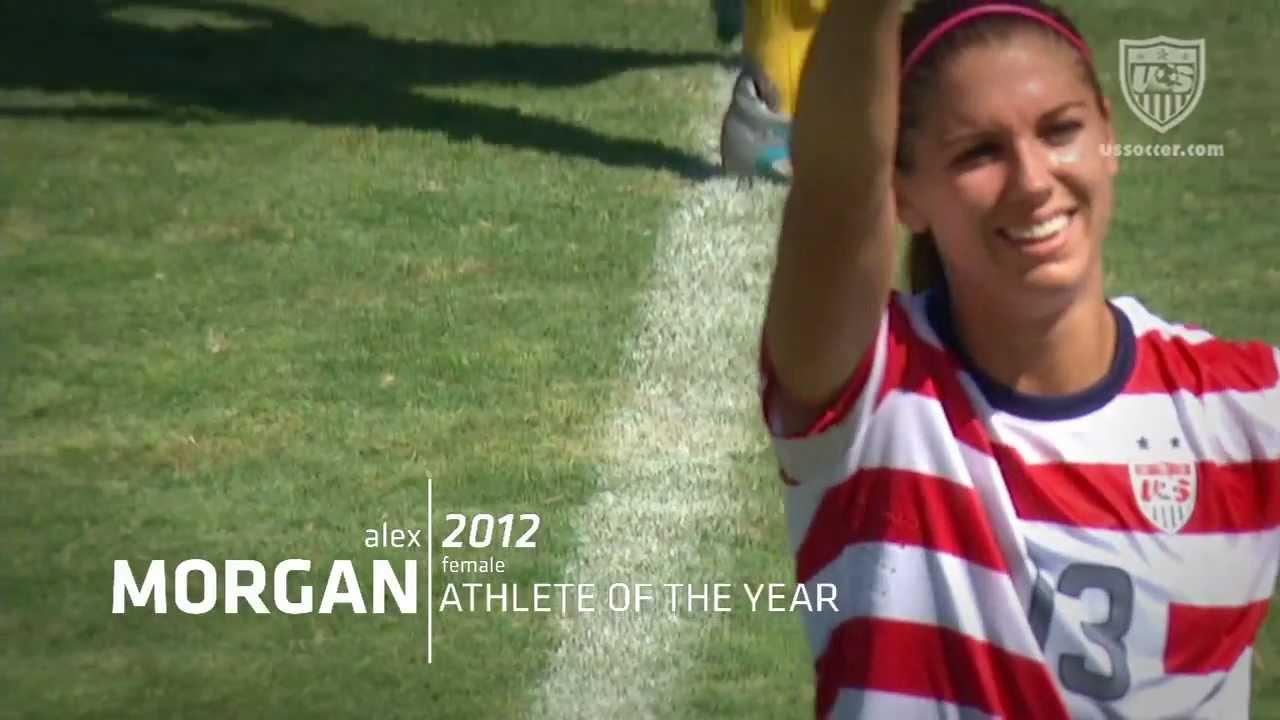 Calendar Year Us Soccer : Alex morgan u s soccer female athlete of the year