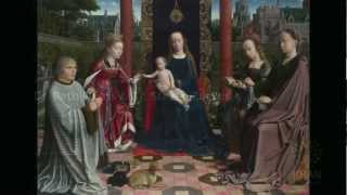 Gerard David, The Virgin and Child with Saints and Donor, c. 1510