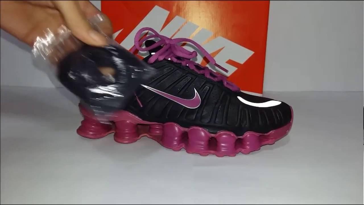best service 84c48 fec6d Tênis Nike Shox TLX
