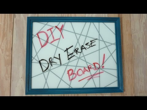 diy-glass-dry-erase-board-(using-old-picture-frame)