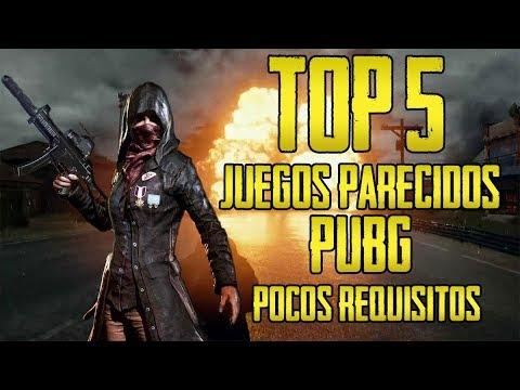 TOP 5 - JUEGOS BATTLE ROYALE [PUBG] PARA PC/CANAIMA POCOS Y MEDIOS REQUISITOS+LINK 2018