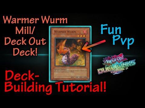 Yugioh Duel Links   Warmer Wurm Mill / Deck Out Fun PvP Deck Tutorial   w/ Gimbplays [DEU/GER]