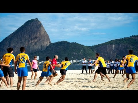 Brazilian Beach Rugby ready for Rio Olympics