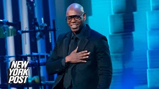 Dave Chappelle won't placate the transgender community over Closer controversy | New York Post