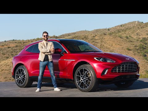NEW Aston Martin DBX! First Look At Aston's New SUV