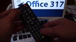 Налаштування універсального пульта для DVB-T2 приставок