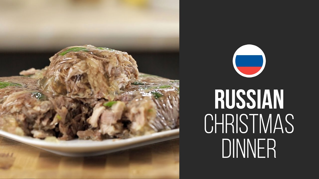 Russian meat aspic gastrolab russian christmas dinner russian meat aspic gastrolab russian christmas dinner christmas new year 2015 recipes youtube forumfinder