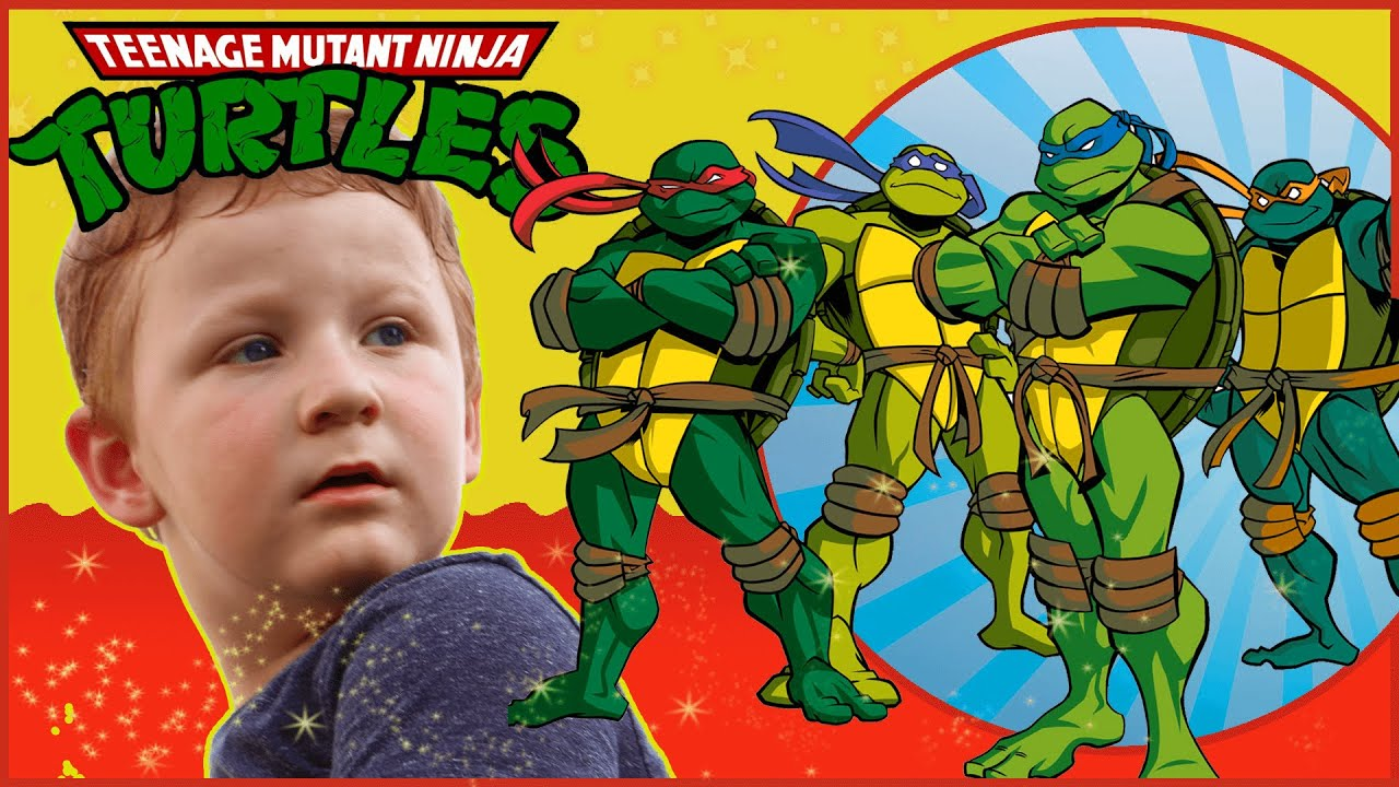 Teenage  Mutant Turtles - Playground Fun with CARS